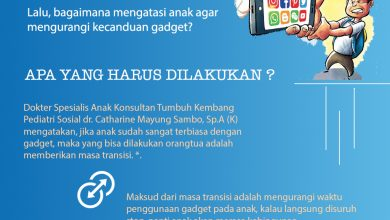Photo of Tips Kurangi Candu Gadget Pada Anak